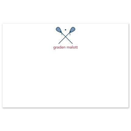 Lacrosse Flat Card