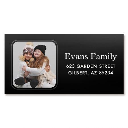 Modern Photo Custom Border Address Labels