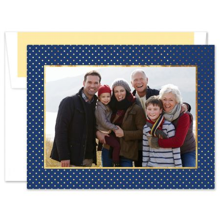 St. Gall Swiss Navy with Gold Photo Card