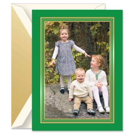 Imperial Pine Photo Mount Holiday Greeting Cards Boxed Set