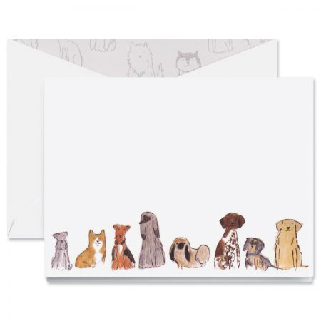 Dogs Note Cards Boxed Set