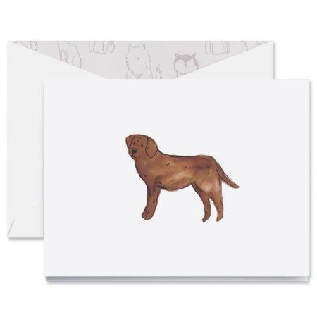 Labrador Note Cards Boxed Set