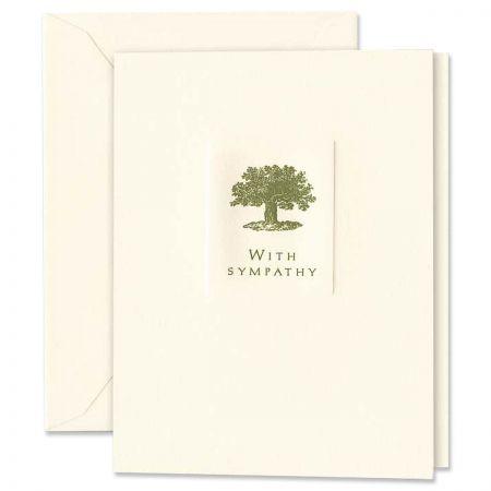 With Sympathy Condolence Sympathy Card