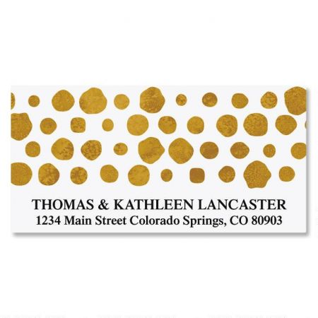 Dots Deluxe Custom Address Labels