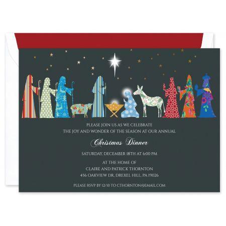 Nativity Invitation