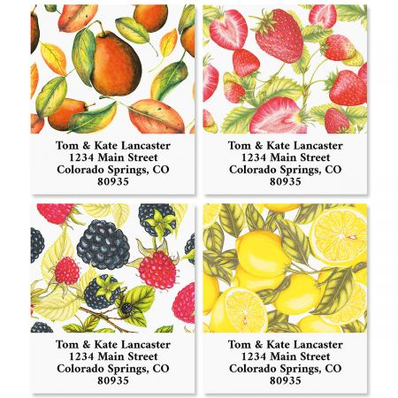 Tasty Fruit Select Custom Address Labels (4 Designs)