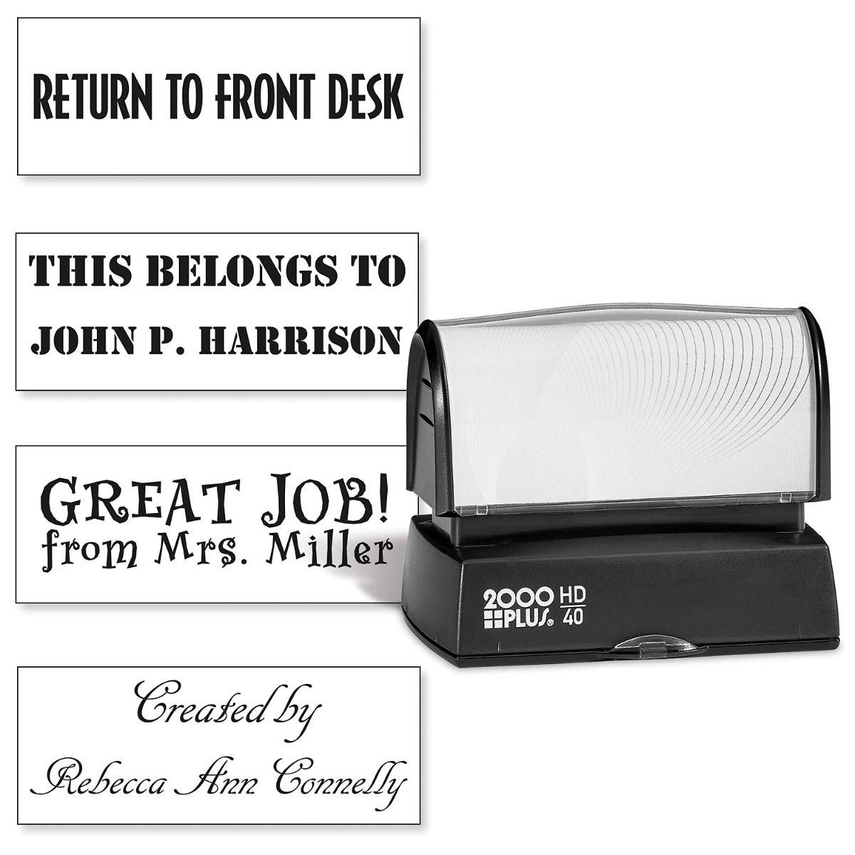 Create Your Own Custom Address Stamp