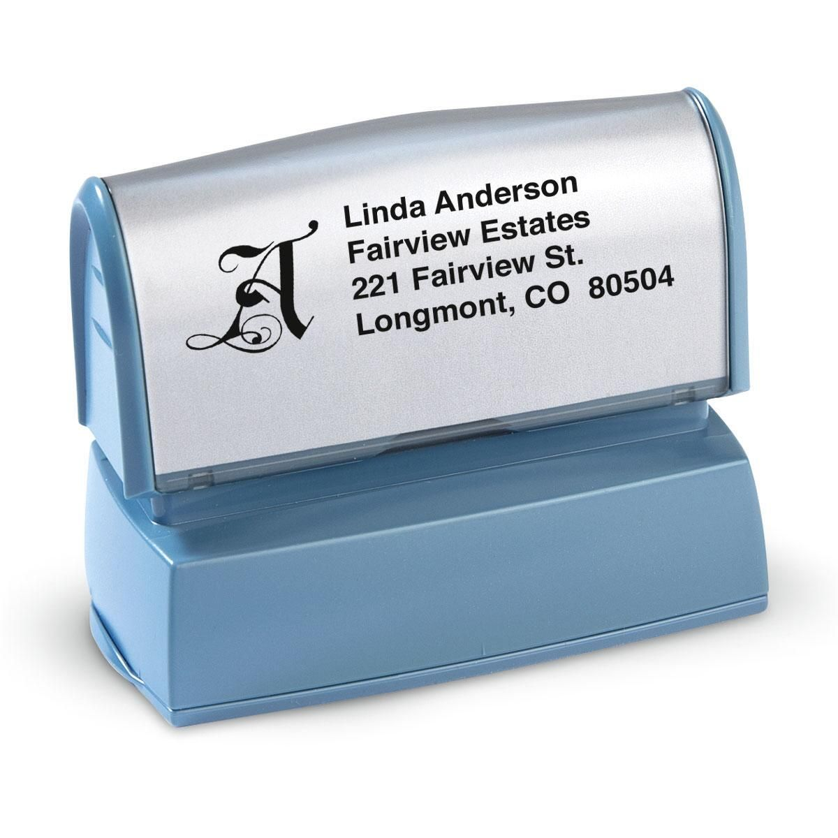 Initial Choice-Standard Custom Address Stamp