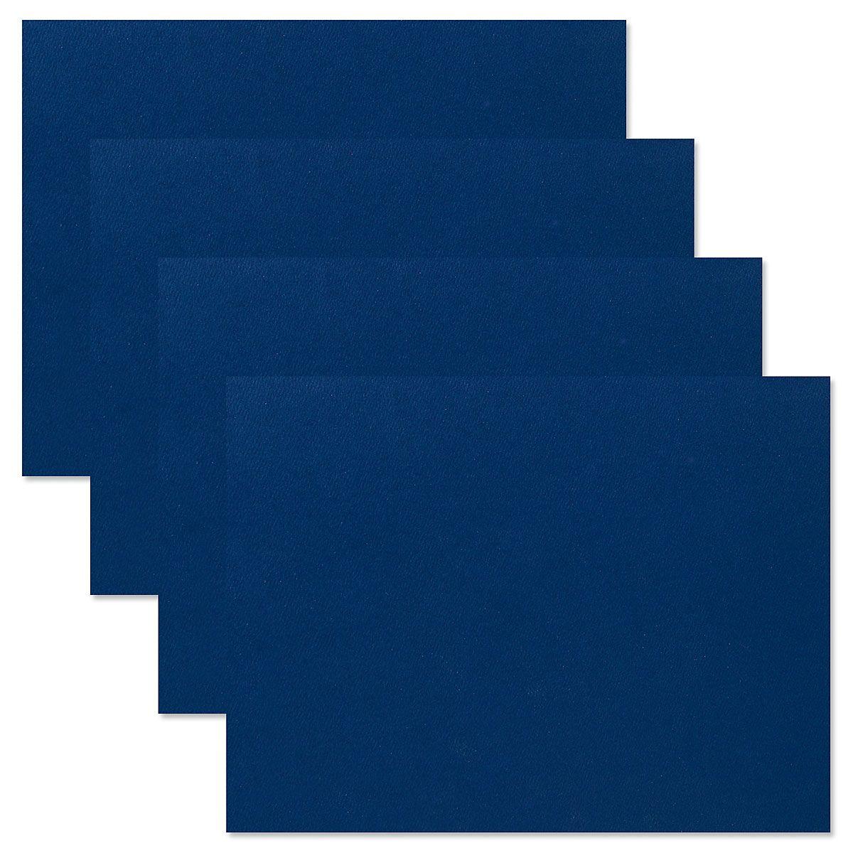 Plain Blue Certificate Jacket