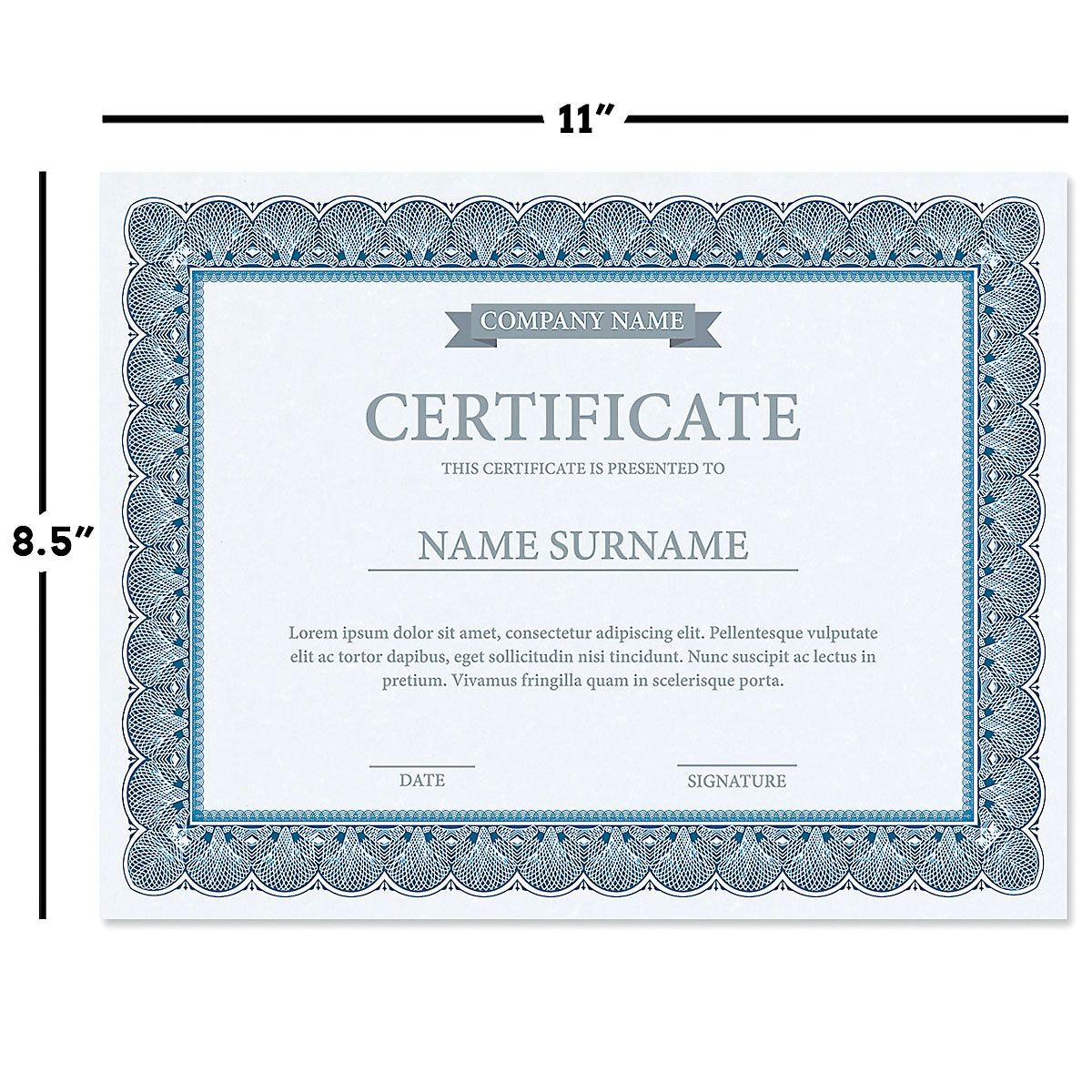 Classic Elite Certificate Collection