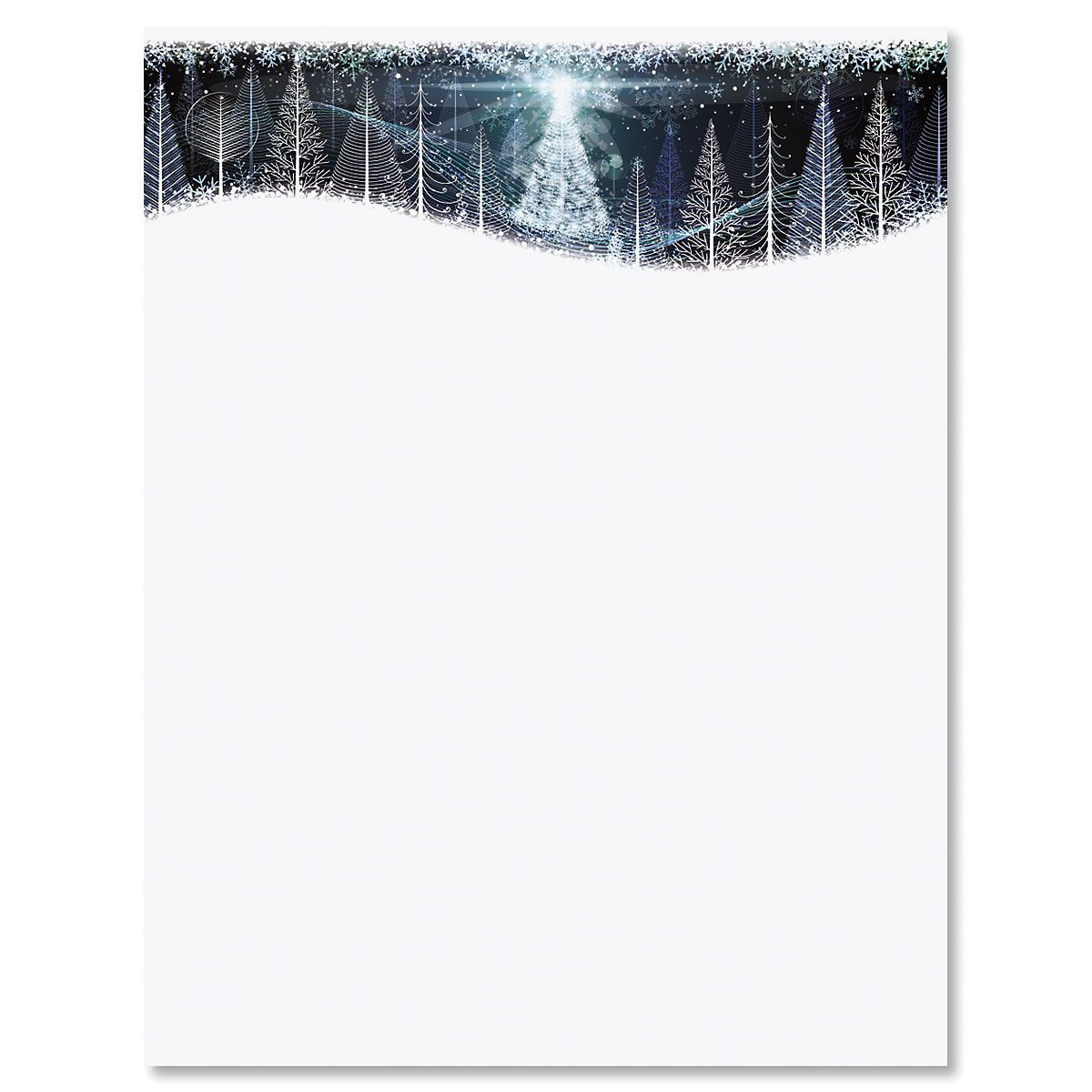 Christmas Twilight Letter Papers