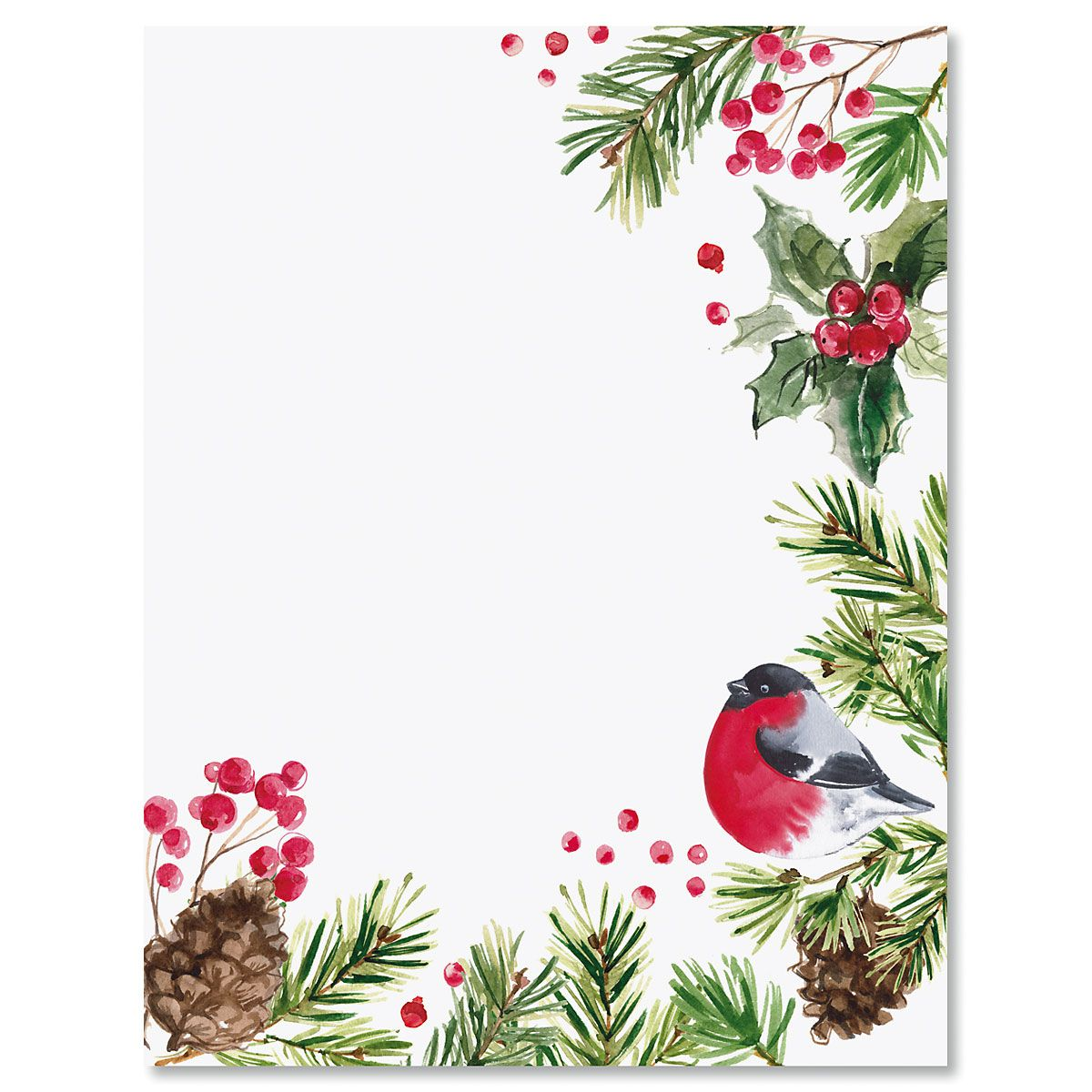Splash of Holiday Letter Papers