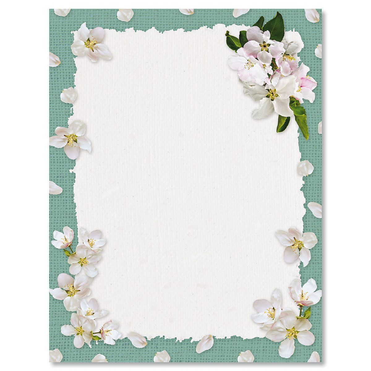 Spring Blooms Letter Papers