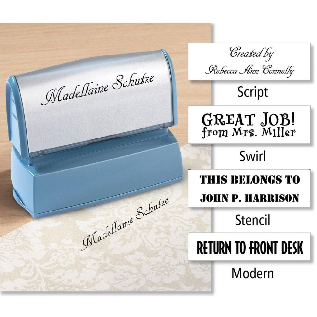 Create-Your-Own Self-Inking Custom Address Stamp
