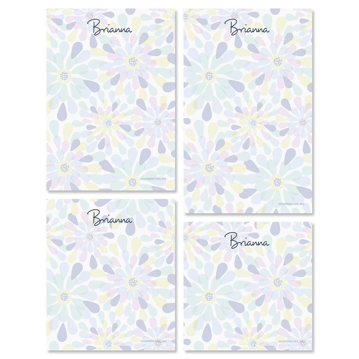 Fresh Blooms Note Pad Set