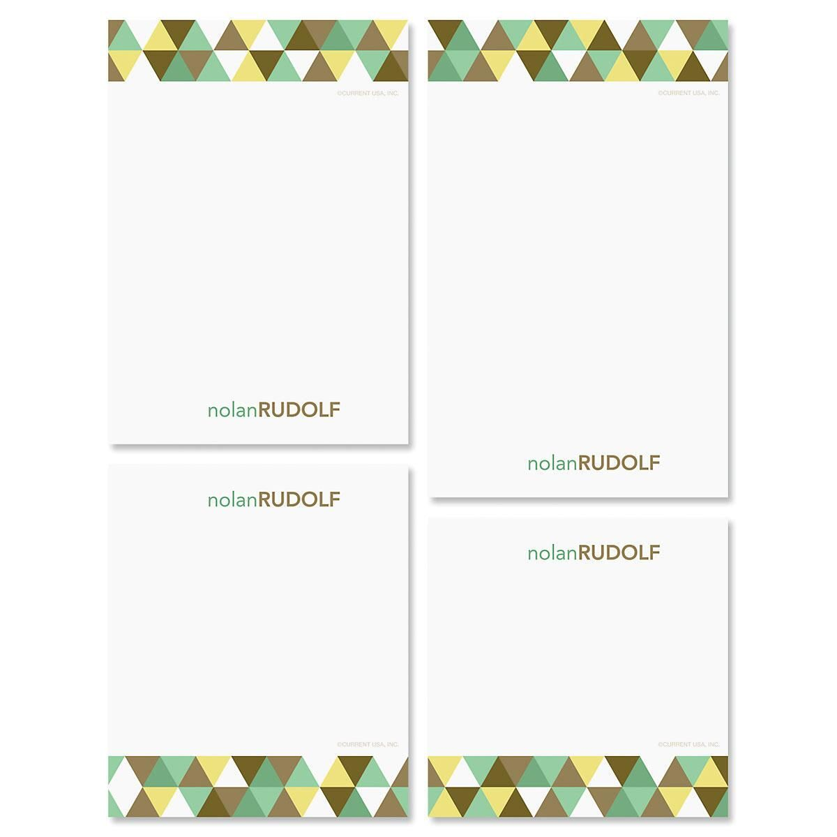 Triangulate Note Pad Set