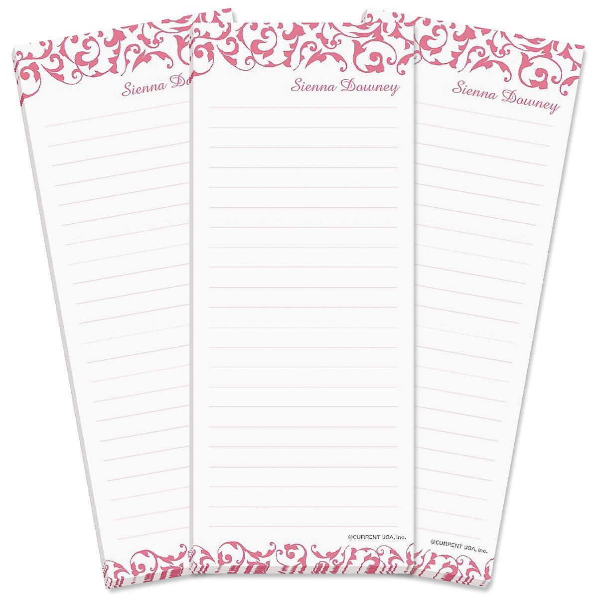 Twist Lined List Pad