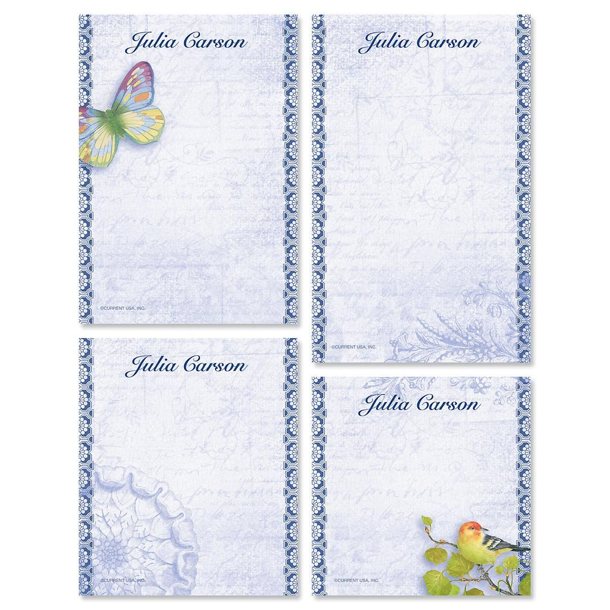 Exotic Prints Note Pad Set