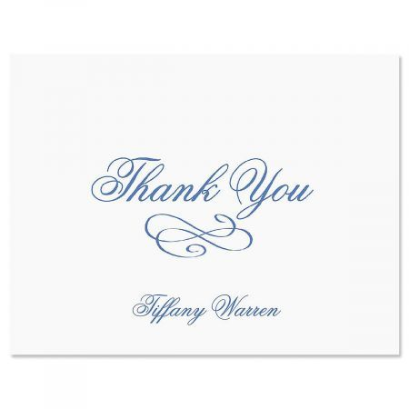 Tiffany Thank You Cards-Purple-609269B