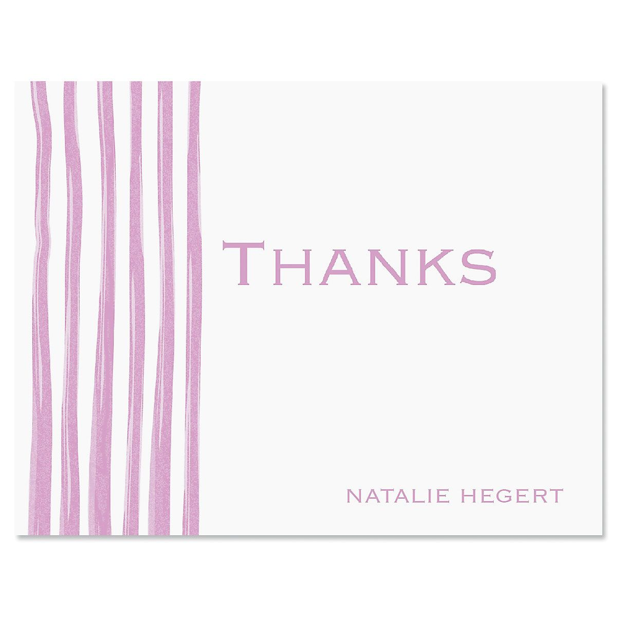 Sheer Delight Thank You Cards-Lavender-609279A
