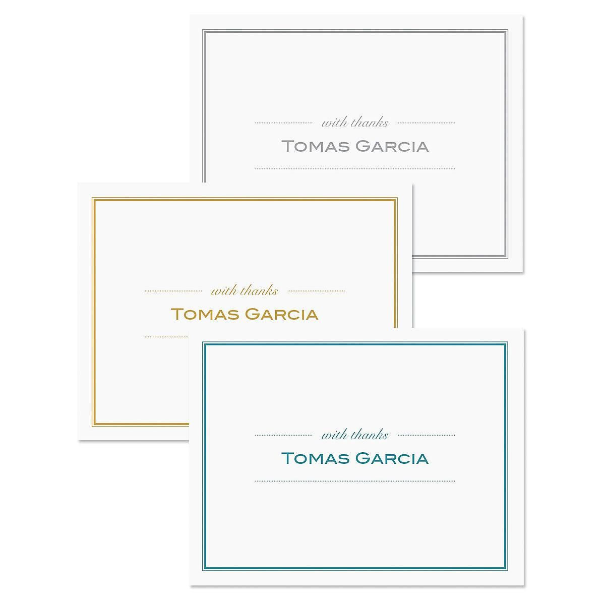 Refined Thank You Note Cards