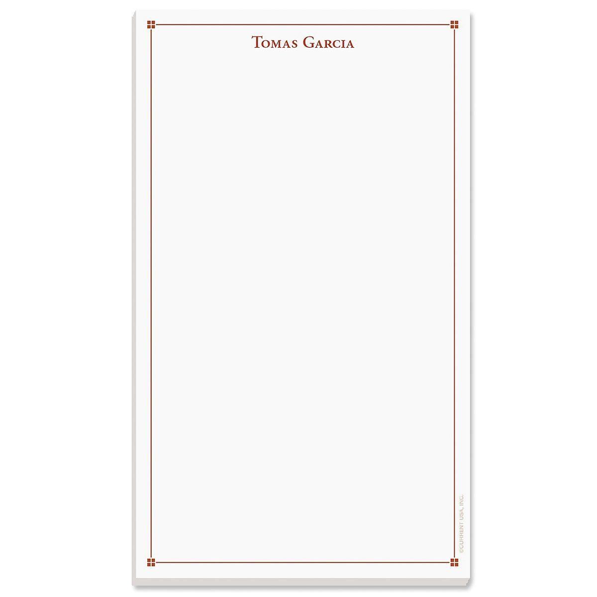 Atticus Note Pad