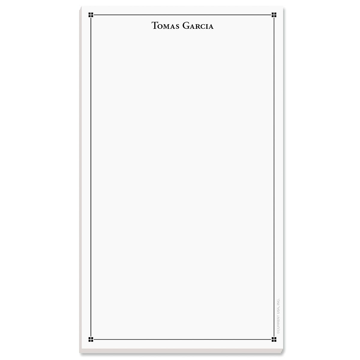 Atticus Note Pad-Black-609314A