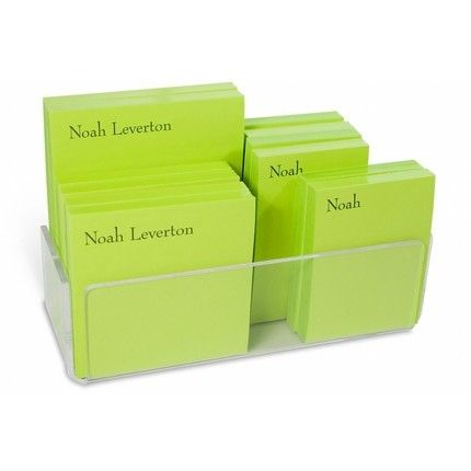 Green Pads & Acrylic Holder