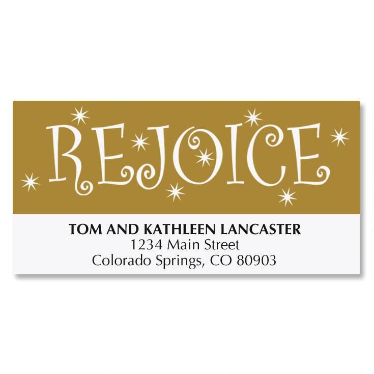 Rejoice Tree Address Labels