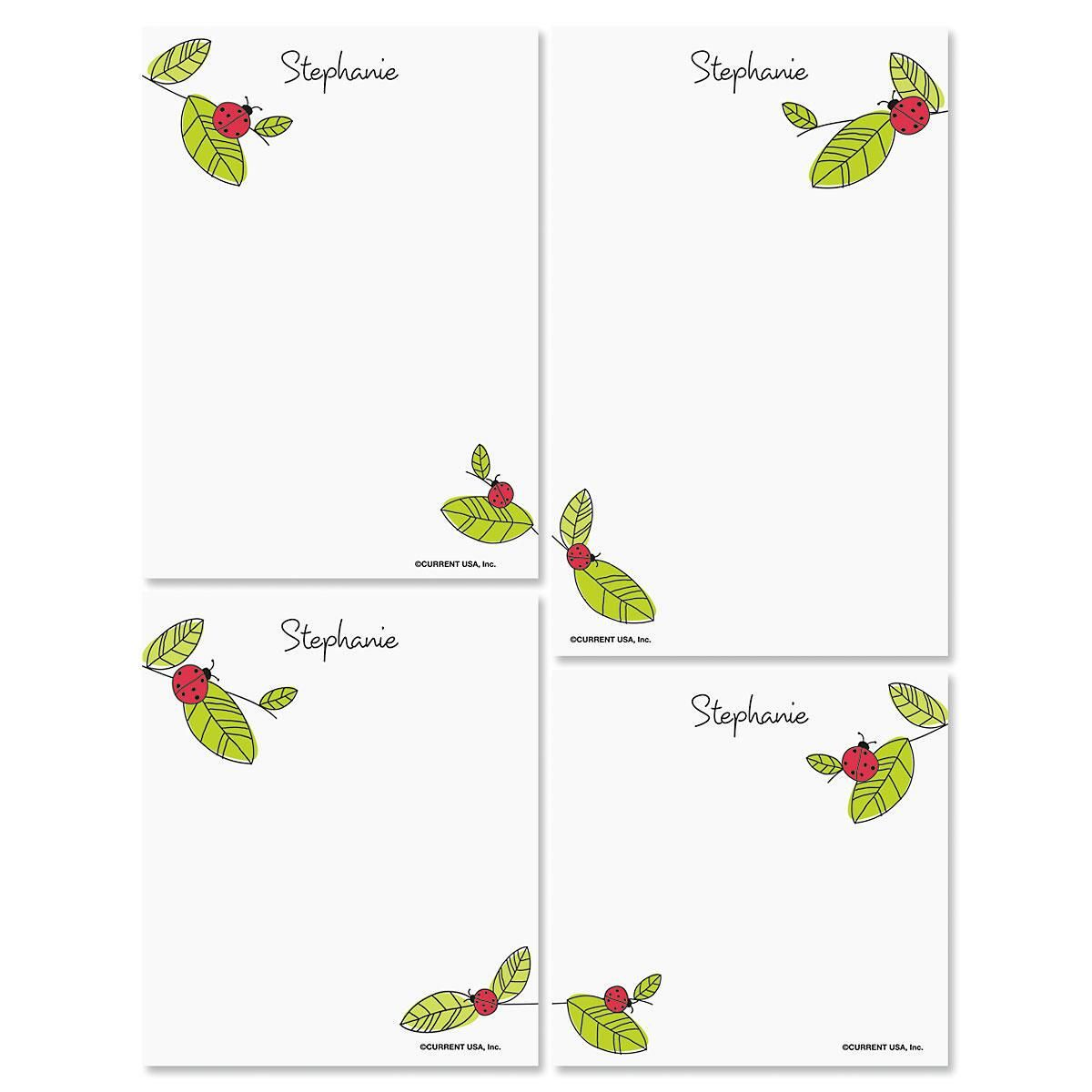 Ladybugs Note Pad Set