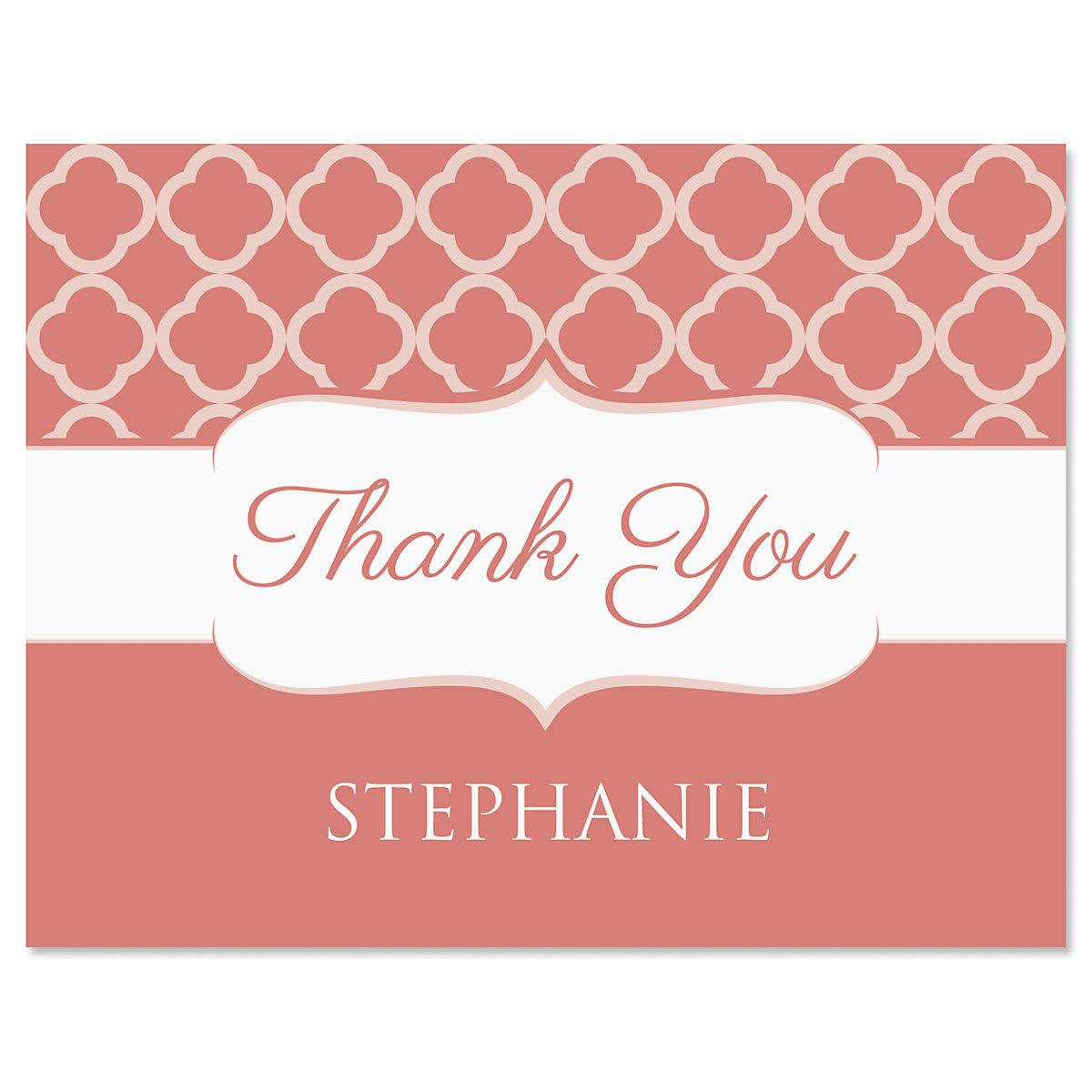Renaissance Thank You Cards-Coral-613875D