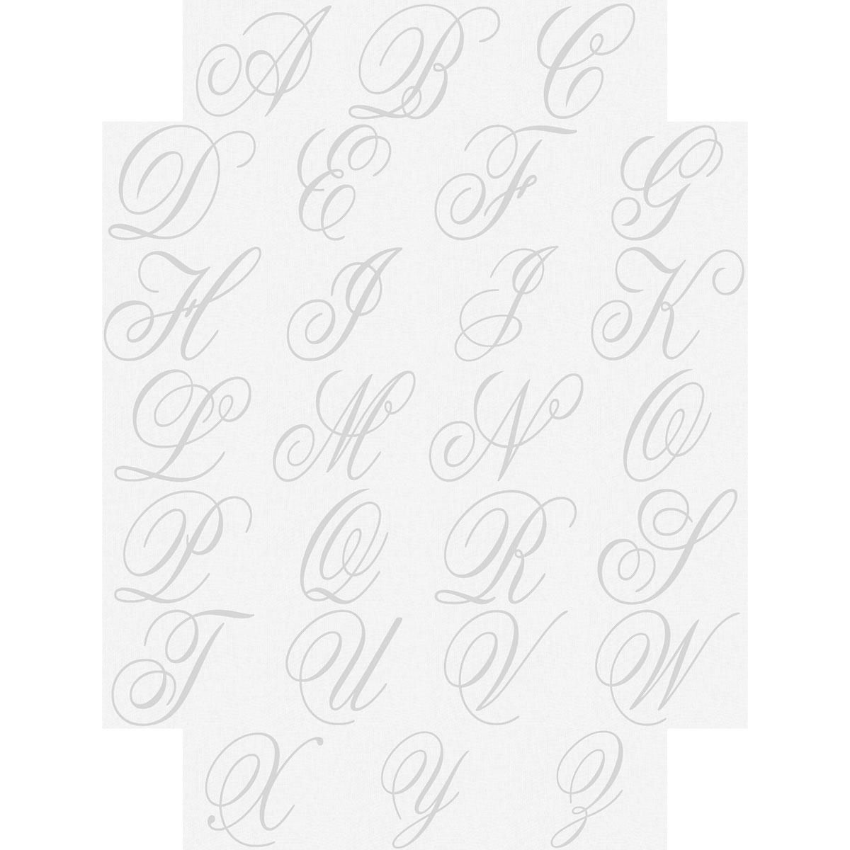 Brushed Initial Note Cards