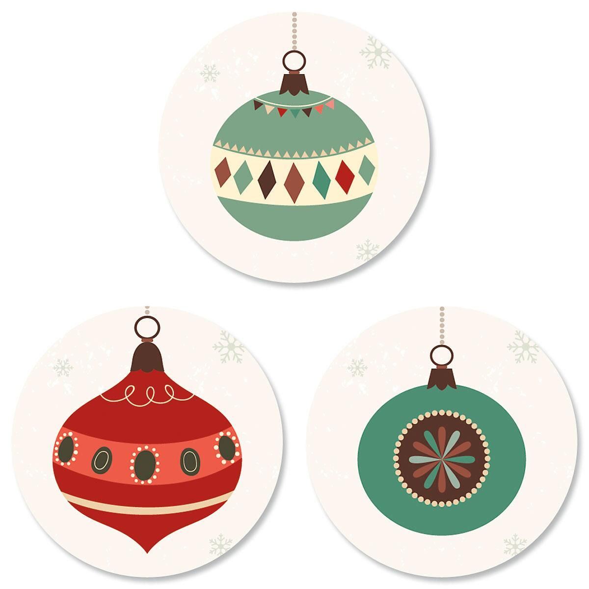 Ornament Trio Seals