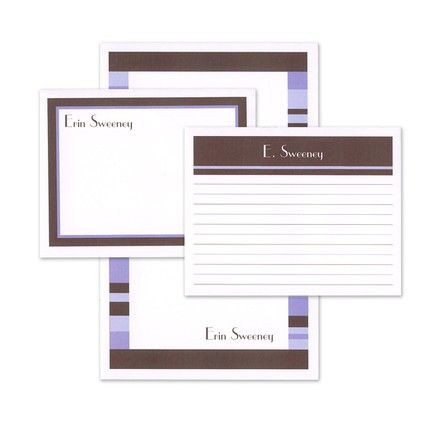 Lavender Note Pad Set