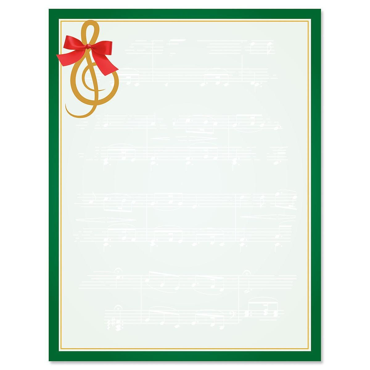 Merry Melody Letter Papers