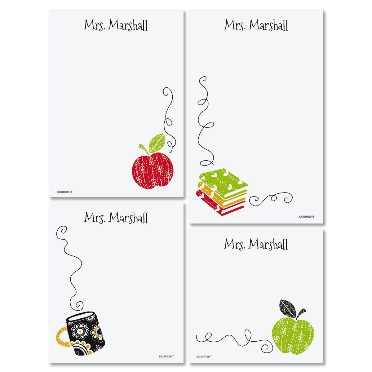 Teacher Note pad Set