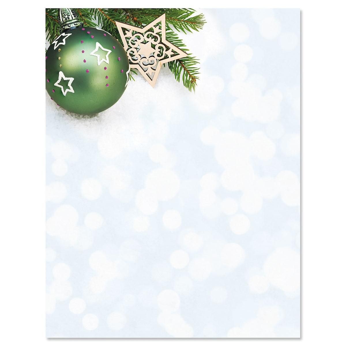 Glistening Pine Letter Papers