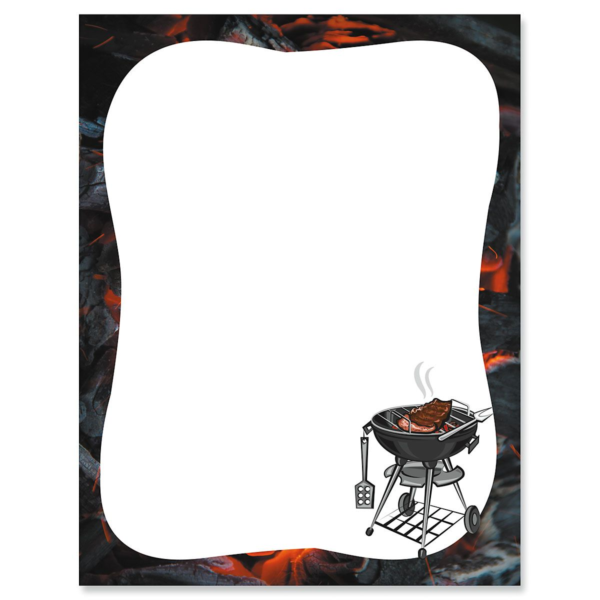 Barbeque Letter Papers
