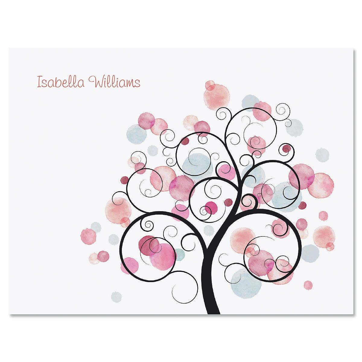 Watercolor Tree Note Cards