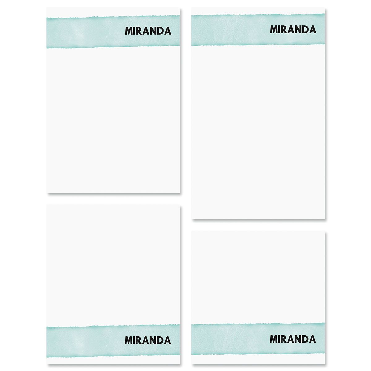 Watercolor Wash Note Pad Sets