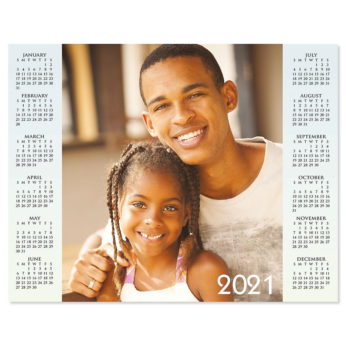 Year at a Glance 2021 Photo Calendar