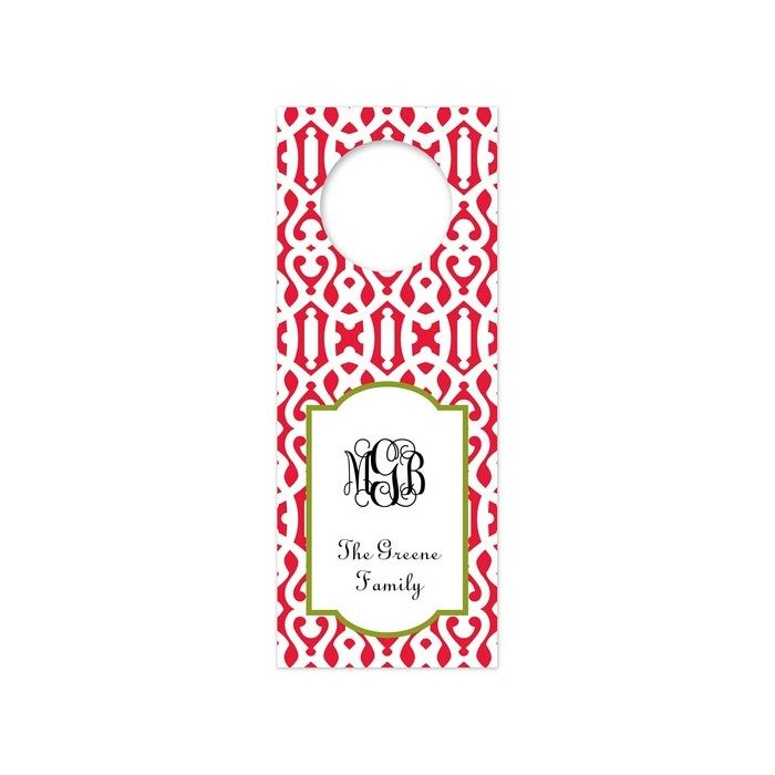 Cameron Red Wine Tag