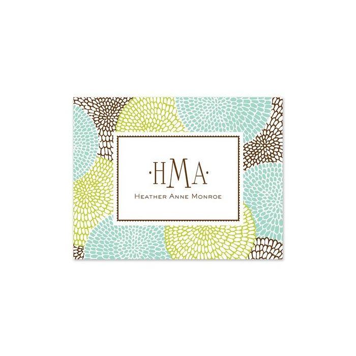 Petals De Mer Note Card