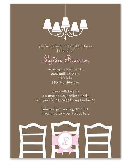 Be Seated Invitation