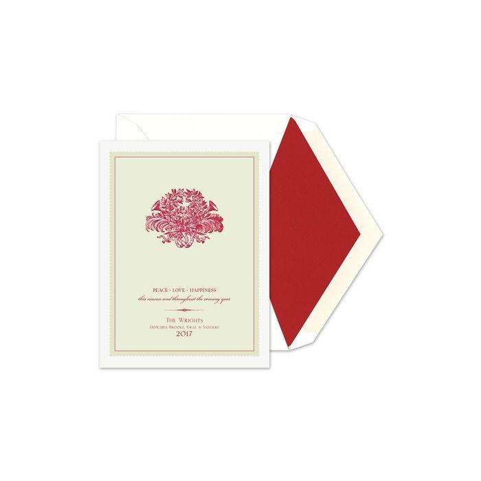 Holiday Horns Greeting Card