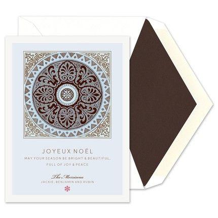 Medallion Greeting Card