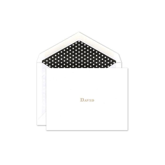 Polka Dot Note Card