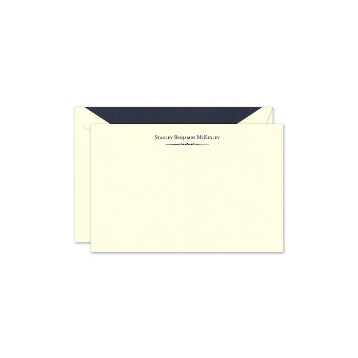 Tailored Ornament Flat Card