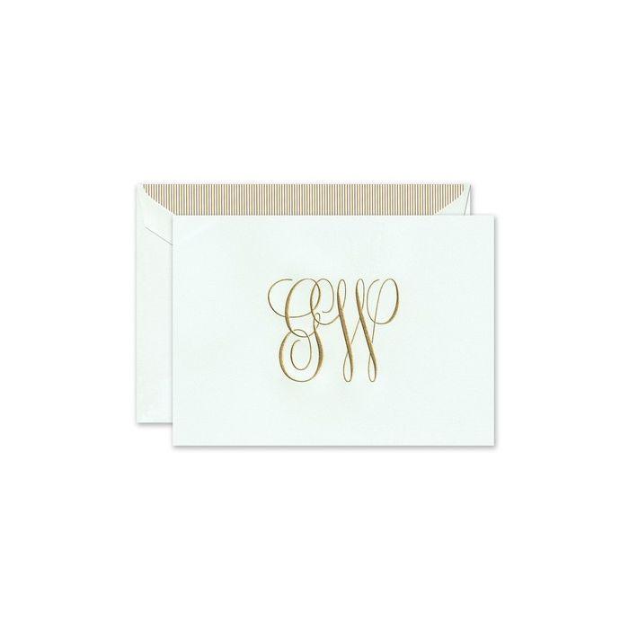 Beach Glass Note Card