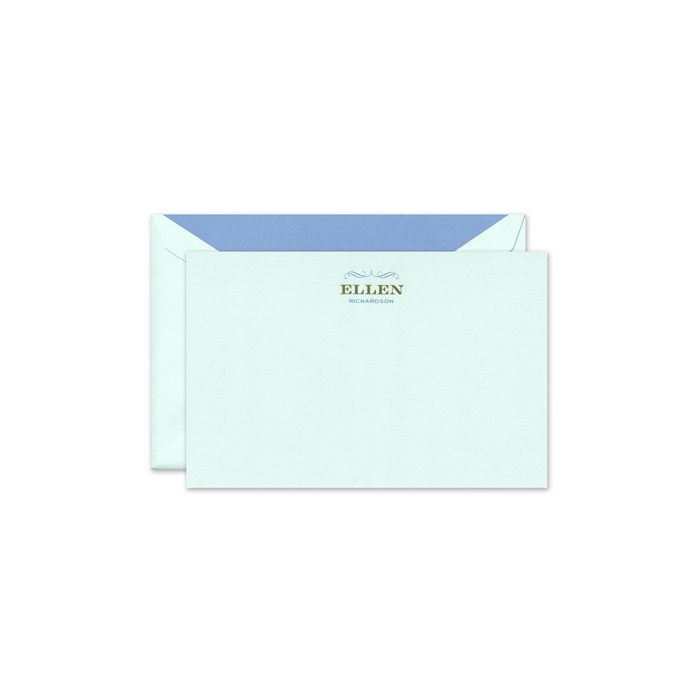 Beach Glass Flat Card
